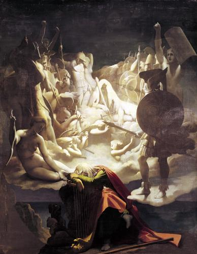 The Dream of Ossian 1813 by Jean-Auguste-Dominique Ingres