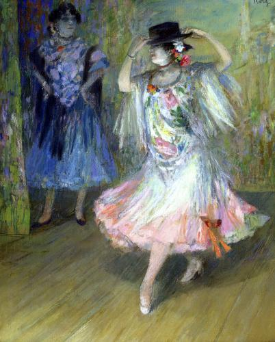 Two Spanish Dancers by Juan Roig y Soler