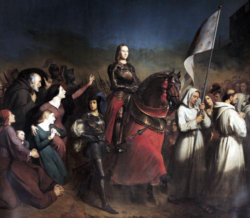 The Entry of Joan of Arc into Orleans 1843 by Henry Scheffer