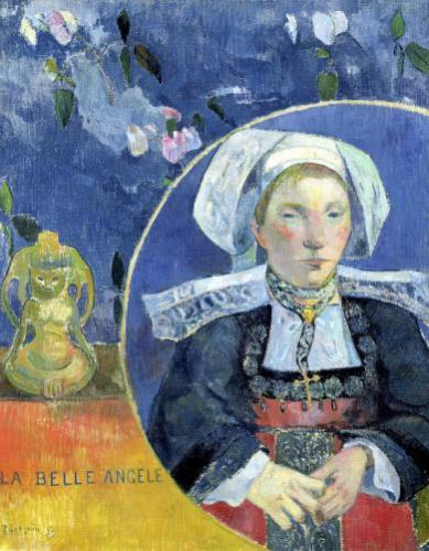 The Beautiful Angel 1889 by Paul Gauguin