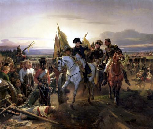 The Battle of Friedland 1807 by Emile Jean Horace Vernet