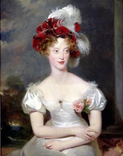 The Duchess of Berri c.1825 by Sir Thomas Lawrence