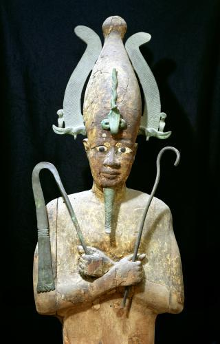 Statue of the Cult of Osiris by Egyptian Art