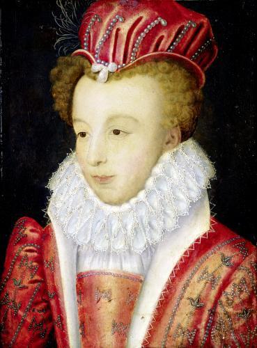 Marguerite de Valois c.1572 by Francois Clouet