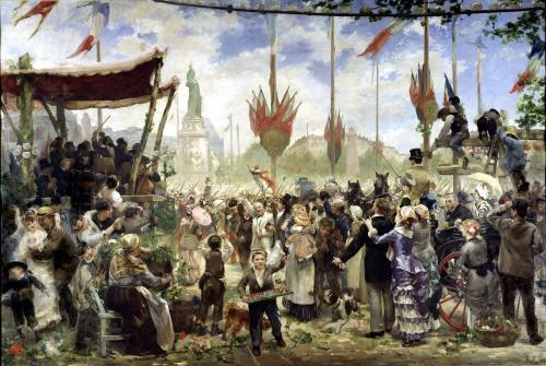 The 14th July 1880 1882 by Alfred Roll
