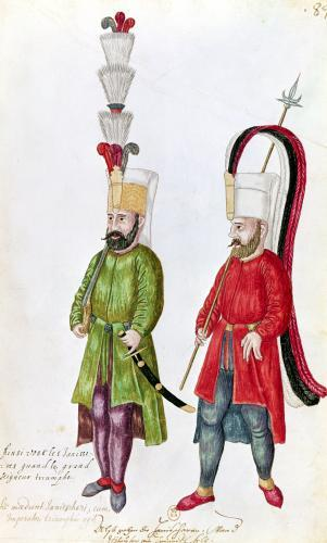 Persian Janissaries 1513 by French School
