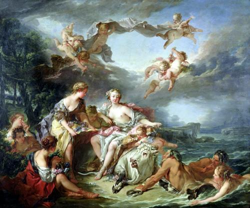 The Rape of Europa 1747 by Francois Boucher
