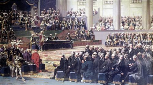 Opening of the Estates General at Versailles 1839 by Louis Charles Auguste Couder