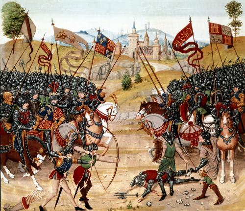 Battle of Najera 1367 by Anonymous
