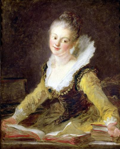 The Song c.1769 by Jean-Honoré Fragonard