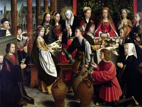 The Marriage Feast at Cana c.1500 by Gerard David