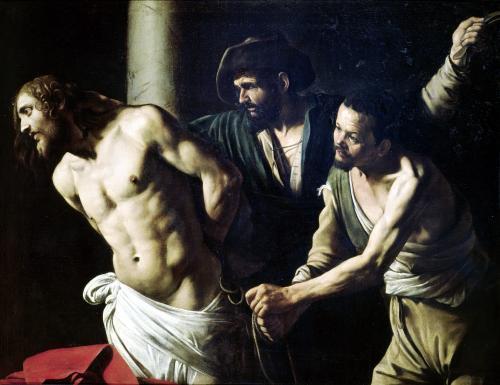 The Flagellation of Christ c.1605 by Michelangelo Merisi da Caravaggio