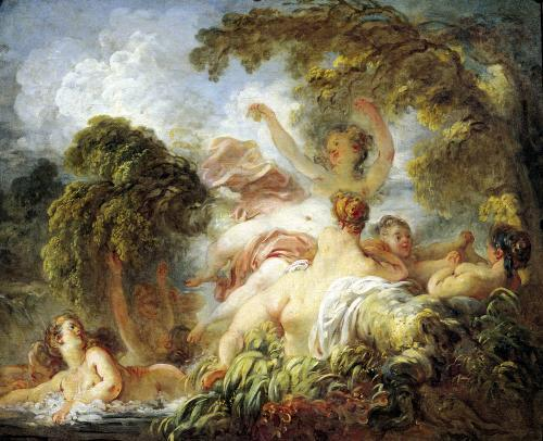 The Bathers c.1765 by Jean-Honoré Fragonard