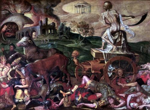 The Triumph of Death by Antoine Caron