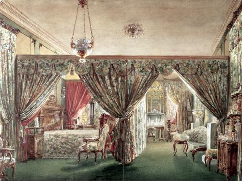 Interior from the home of Eveline Hanska by Anonymous