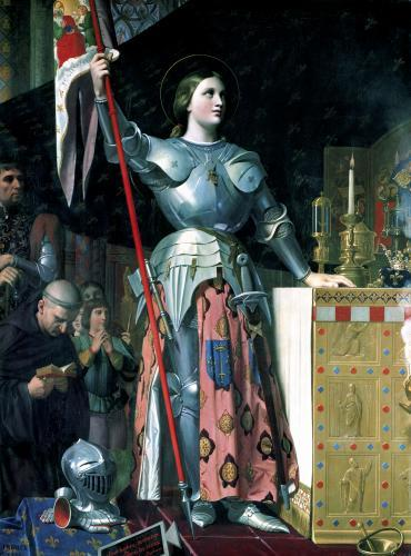 Joan of Arc at the Coronation of King Charles VII 1854 by Jean-Auguste-Dominique Ingres