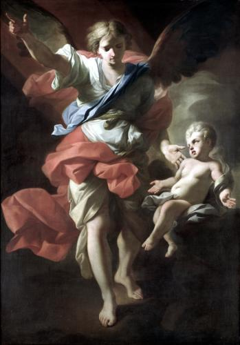 Guardian Angel c.1685 by Andrea Pozzo