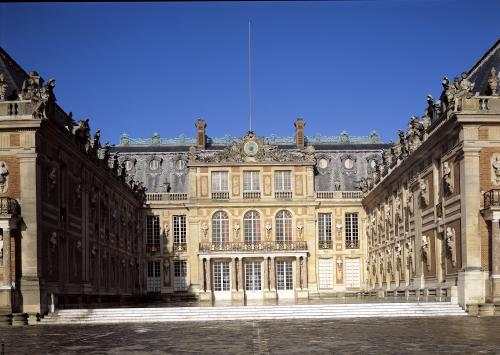 The Louis XIII Courtyard remodelled by Louis Le Vau c.1630 by Louis Le Vau