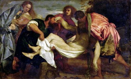 The Entombment of Christ by Titian
