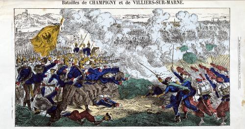The Battles of Champigny and Villiers-sur-Marne 1870 by French School