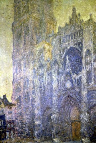 Rouen Cathedral Harmony in White Morning Light 1894 by Claude Monet
