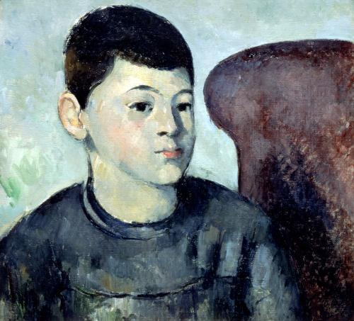 Portrait of Paul Cezanne the artist's son 1883 by Paul Cezanne