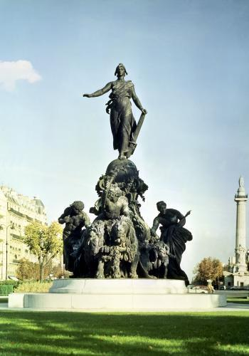 The Triumph of the Republic 1879 by Aime Jules Dalou