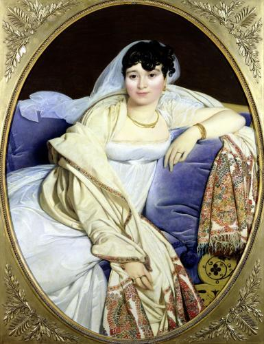 Portrait of Madame Riviere 1805 by Jean-Auguste-Dominique Ingres