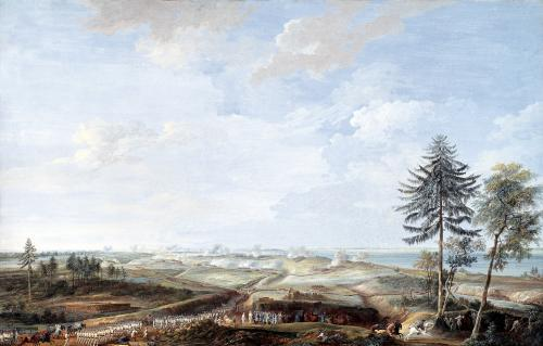 The Siege of Yorktown 1784 by Louis Nicolas van Blarengerghe