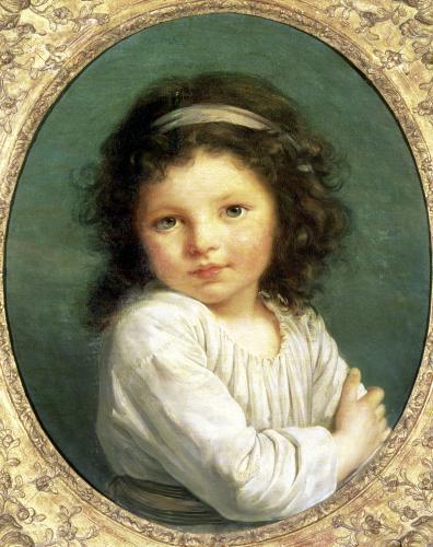 Portrait of Caroline Lalive de la Briche 1786 by Marie Elisabeth Louise Vigee-Lebrun