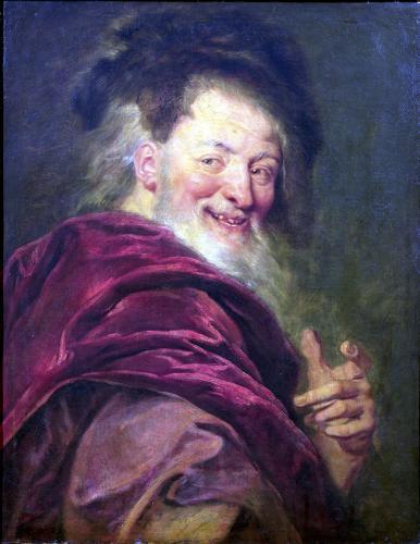 Democritus 1692 by Antoine Coypel