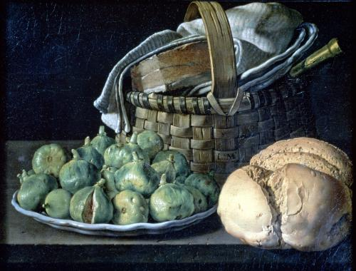 Still Life With Figs 1746 by Luis Egidio Melendez