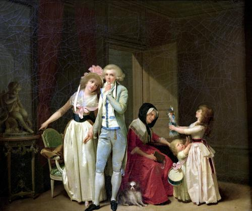 Those who Inspire Love Extinguish it 1790 by Louis-Leopold Boilly