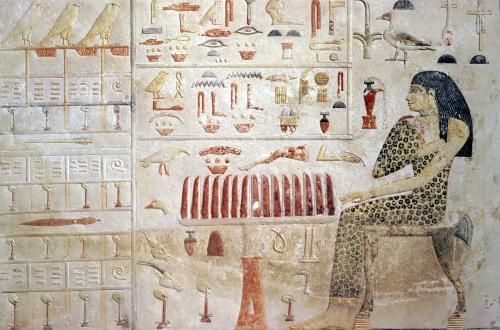 Stela of Princess Nefertiabet from Giza Old Kingdom by Egyptian Art