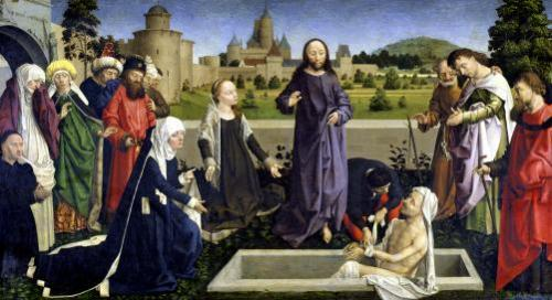 The Raising of Lazarus by Henri de Vulcop