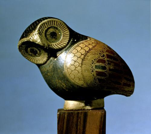 Photograph of Vase in the form of an Owl by Greece