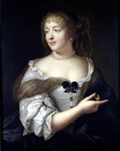 Portrait of Marie de Rabutin-Chantal Madame de Sevigne by Claude Lefebvre