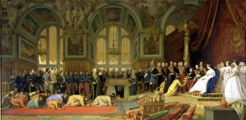 The Reception of Siamese Ambassadors by Emperor Napoleon III by Jean-Leon Gerome
