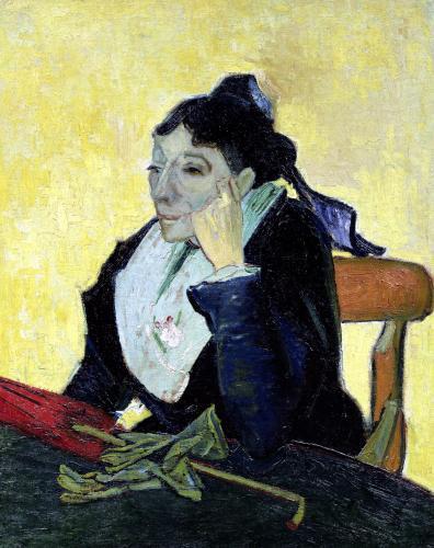 L'Arlesienne 1888 by Vincent Van Gogh