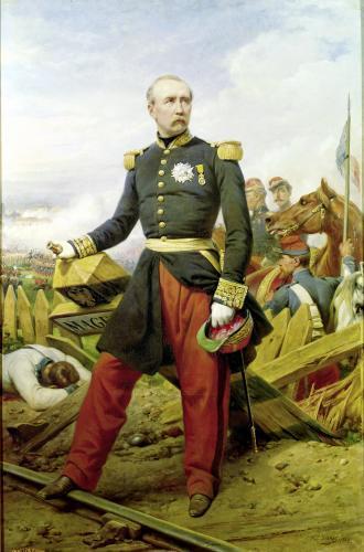 Comte Maurice de MacMahon 1860 by Emile Jean Horace Vernet