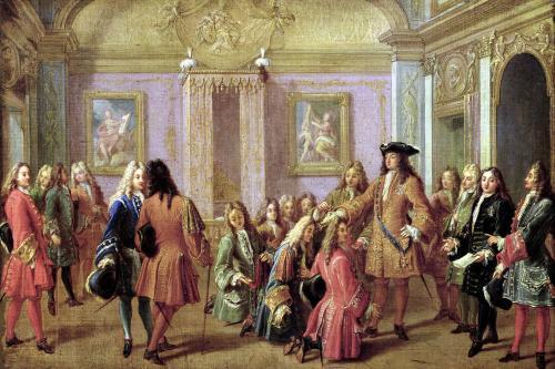 First Promotion of the Order of Saint Louis 1693 by Francois Marot