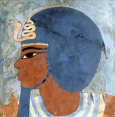 Head of Amenophis III from the tomb of Onsou by Egyptian Art
