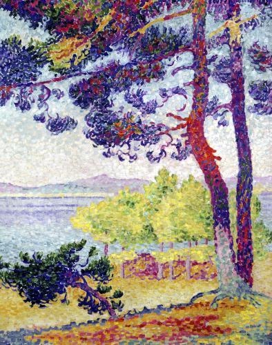 Afternoon at Pardigon Var 1907 by Henri-Edmond Cross
