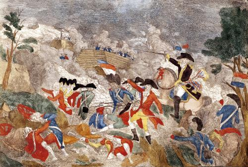The Battle of Jemmapes 1792 by French School