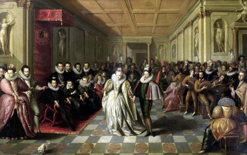 Ball at the Court of Henri III on the Occasion of the Marriage of Anne c.1581 by French School