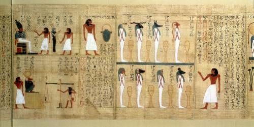 Mythological papyrus of Imenemsaouf by Egyptian Art