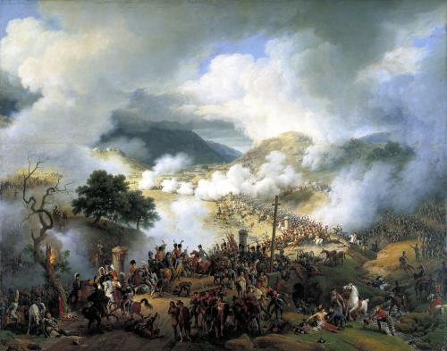 Battle of Somo-Sierra 1808 by Louis Lejeune