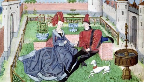 The Garden of Love by Loyset Liedet