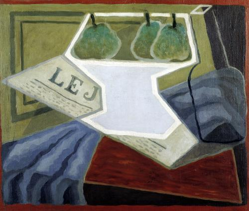 The Fruit Bowl 1925 by Juan Gris