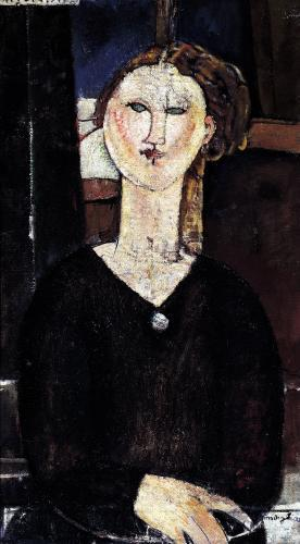 Antonia c.1915 by Amedeo Modigliani